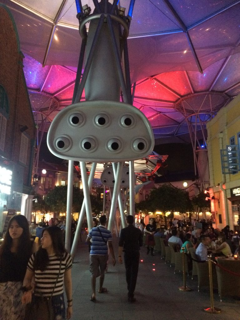 a picture of the interior of Clark Quay
