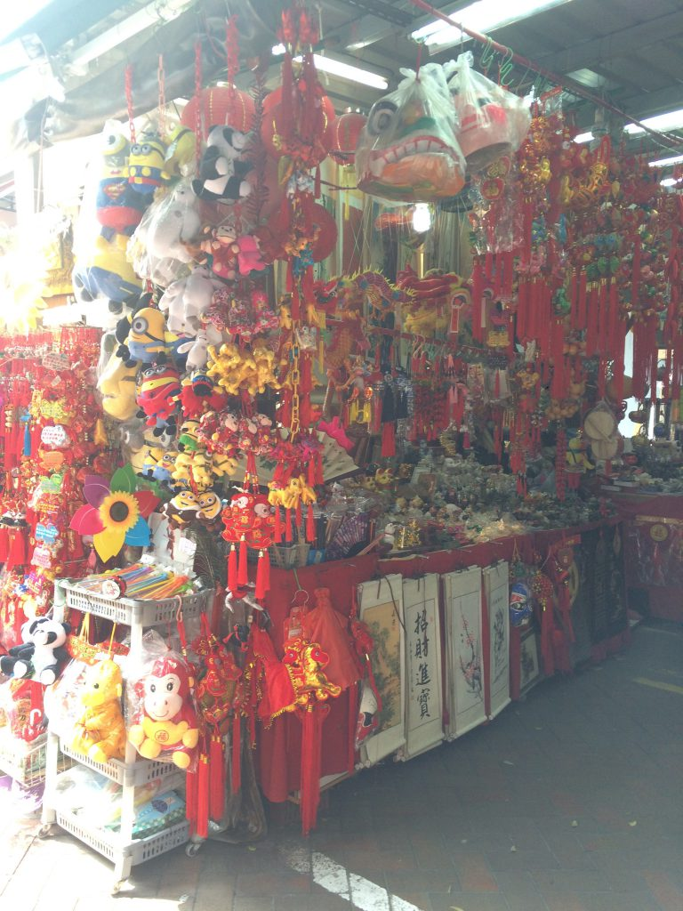 a picture of a store in China Town