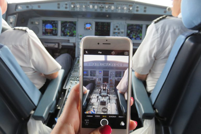 Picture in cockpit