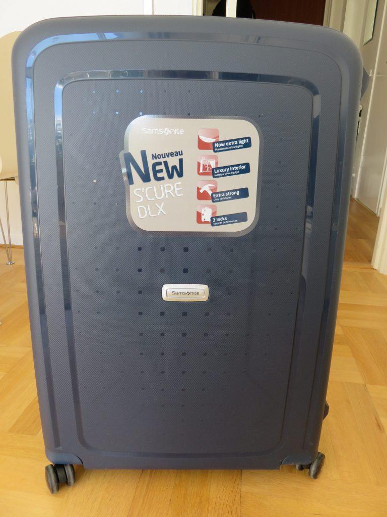 a new samsonite suitcase