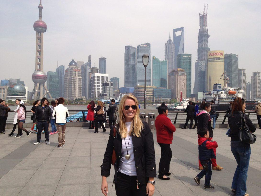 Shanghai Bound, Kina
