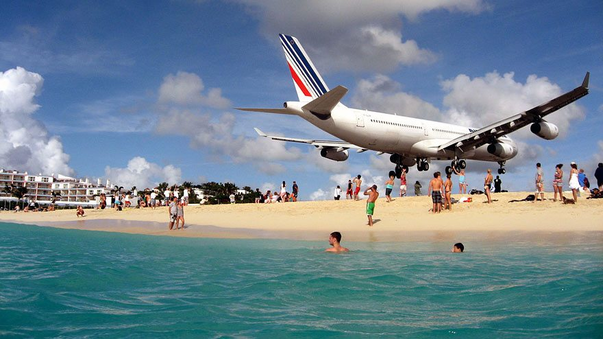 maho-beach in st martin