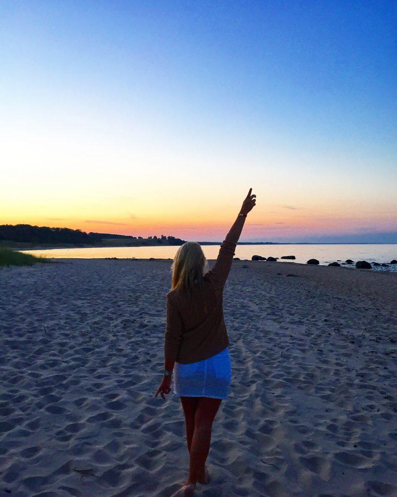 Stranden på Österlen
