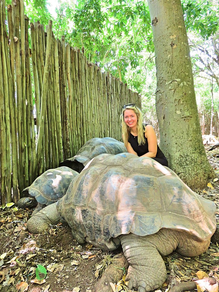another picture of me with giant tortoise