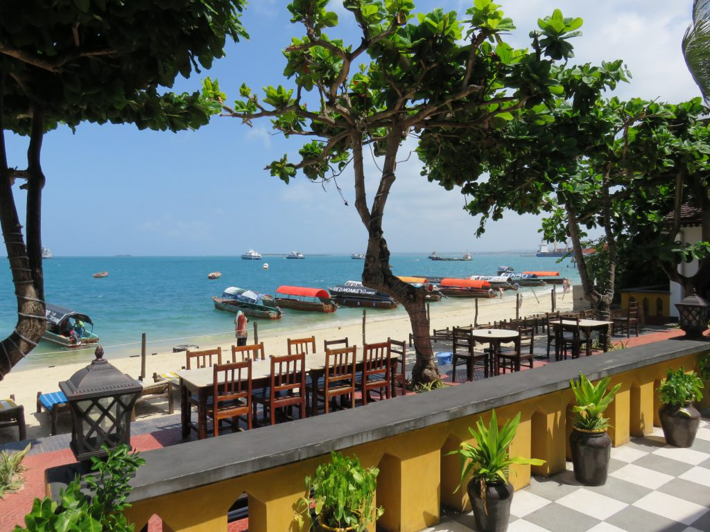 a picture of the beach from Tembo hotel
