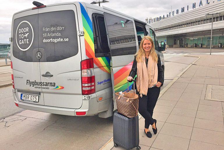 Door to gate till stockholm arlanda flygplats for Door to gate kontakt