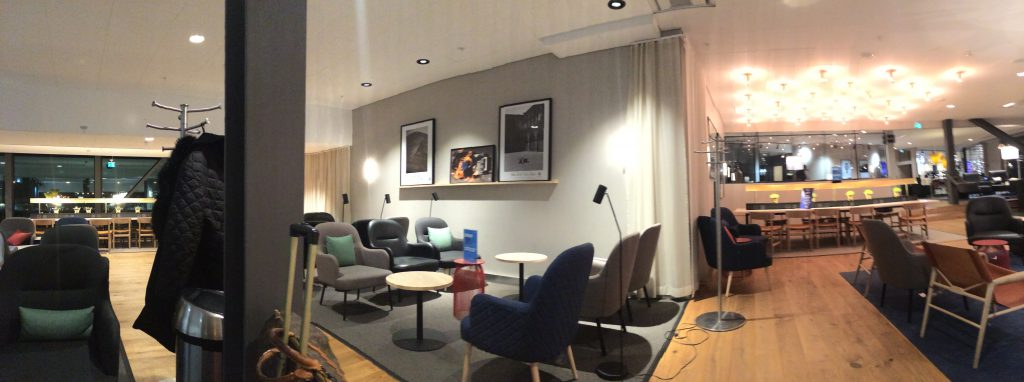 a picture of the seating in the lounge