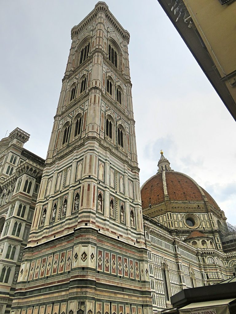 A picture of the steeple of Cattedrale di S.Maria del Fiore