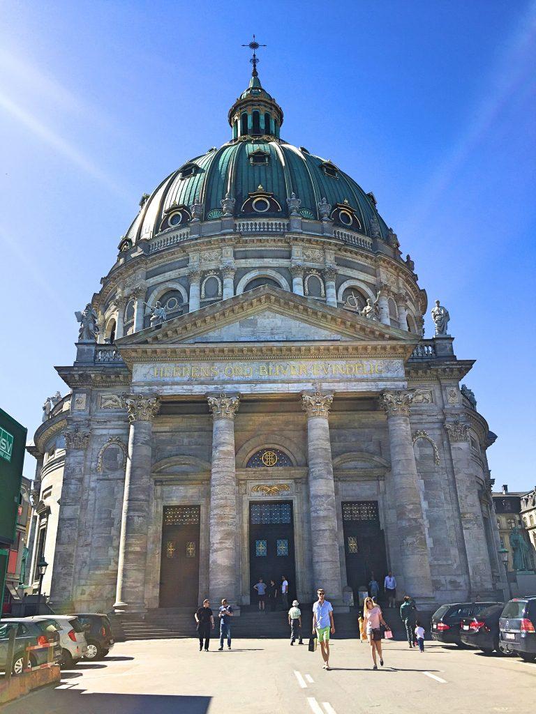 A picture of the Copenhagen castle