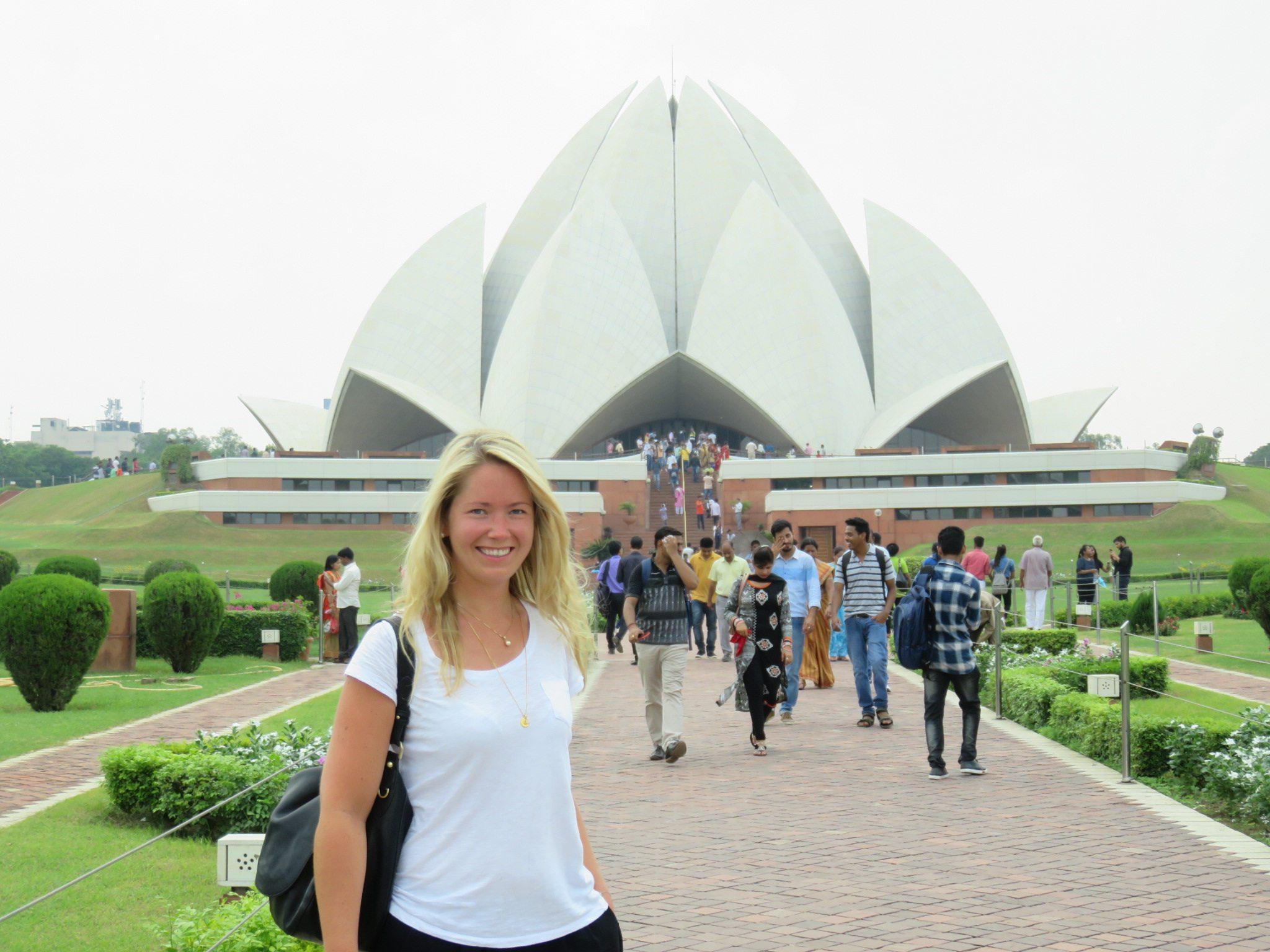 Lotustemplet i Delhi