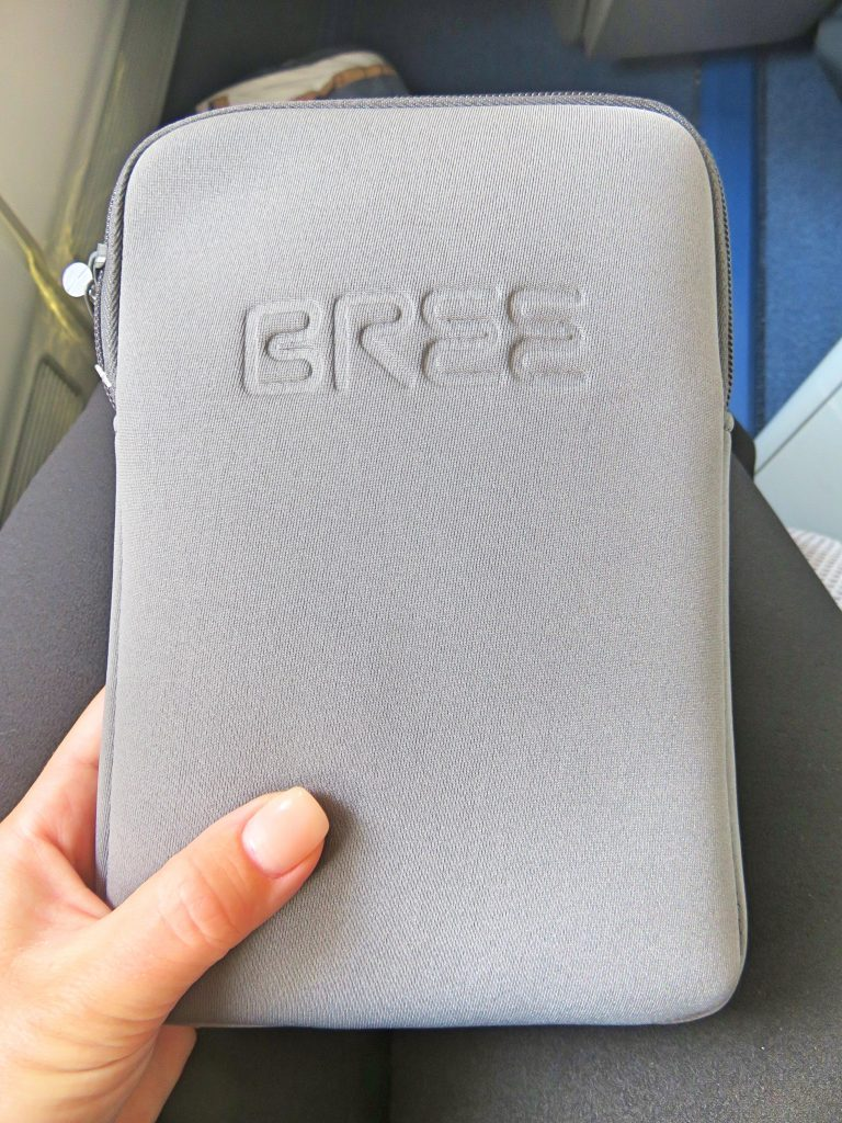 Free goodies in a package for all Business class travellers