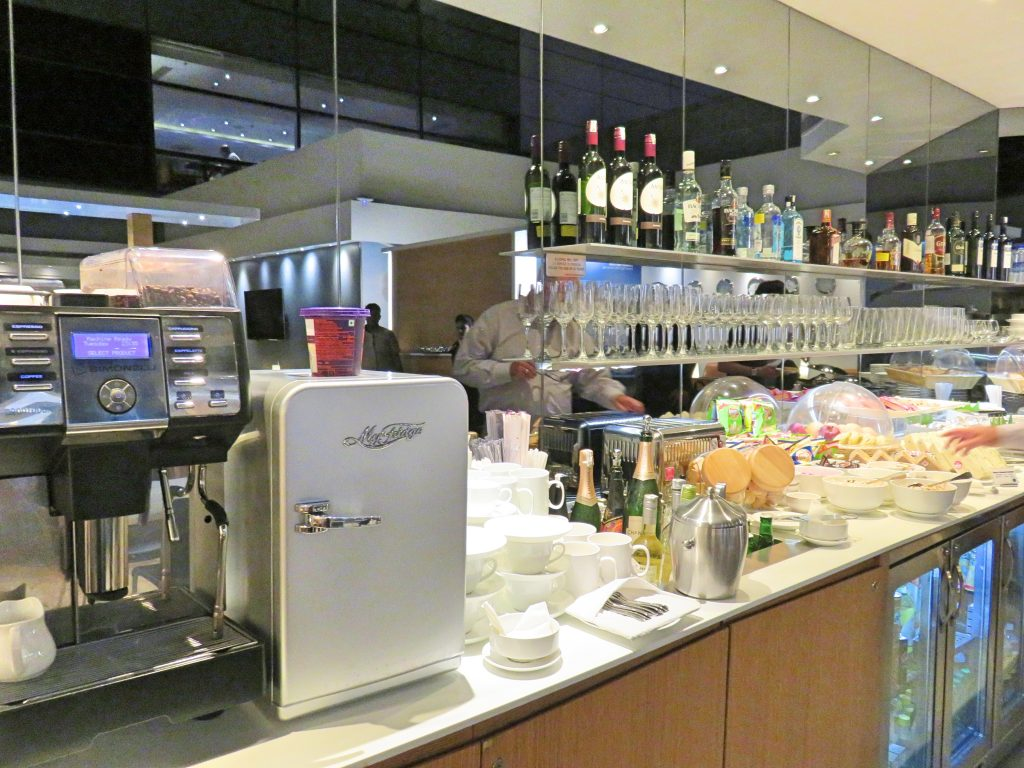 Lufthansa Business Lounge Delhi Airport