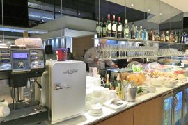 Lufthansa Business Lounge Delhi Airport