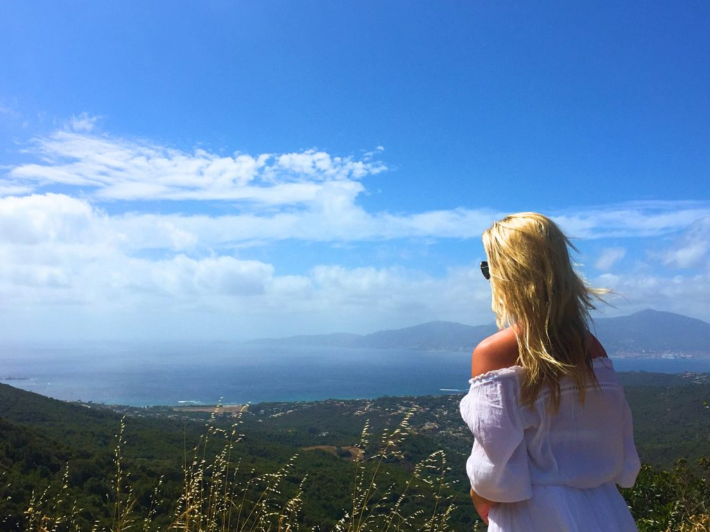 Utsikt över Korsika