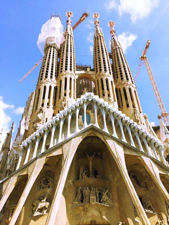 A picture of La Sagrada Familia Barcelona