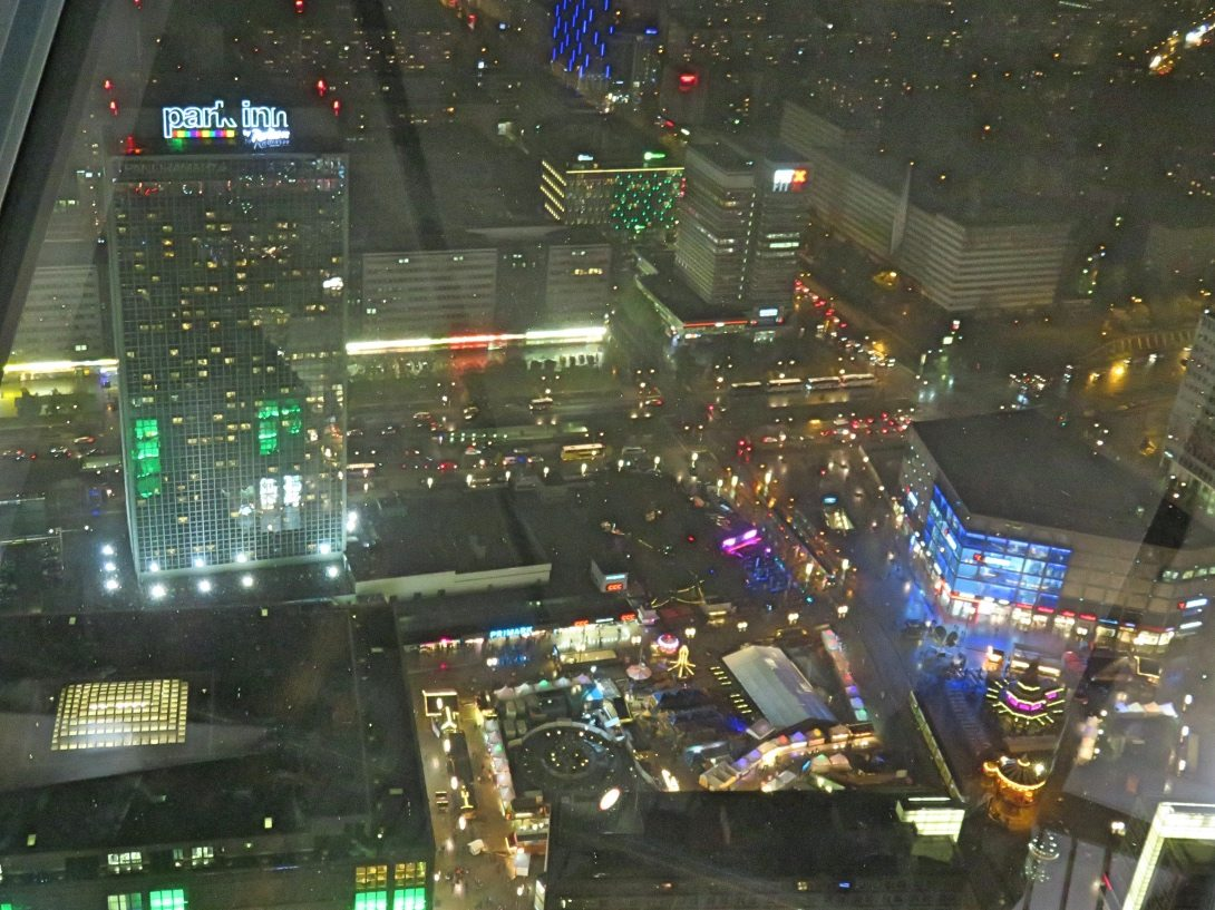 View from TV tower in Berlin