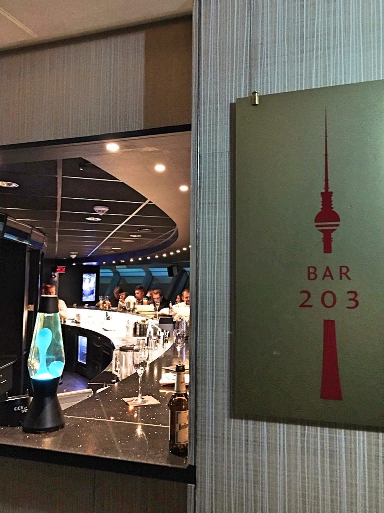 Bar at Tv tower in Berlin