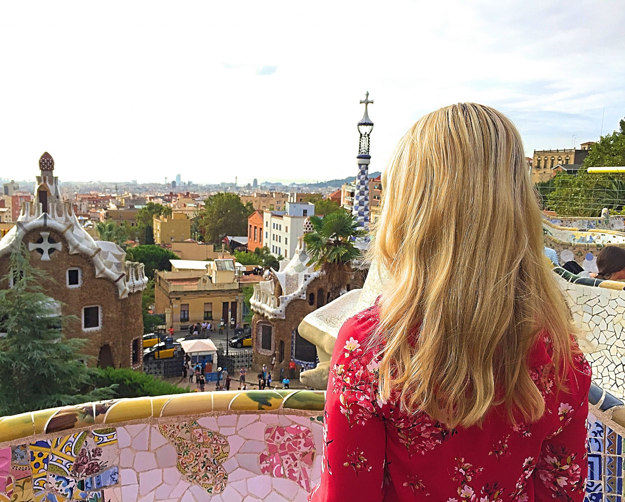 Me at the top of Park Guell