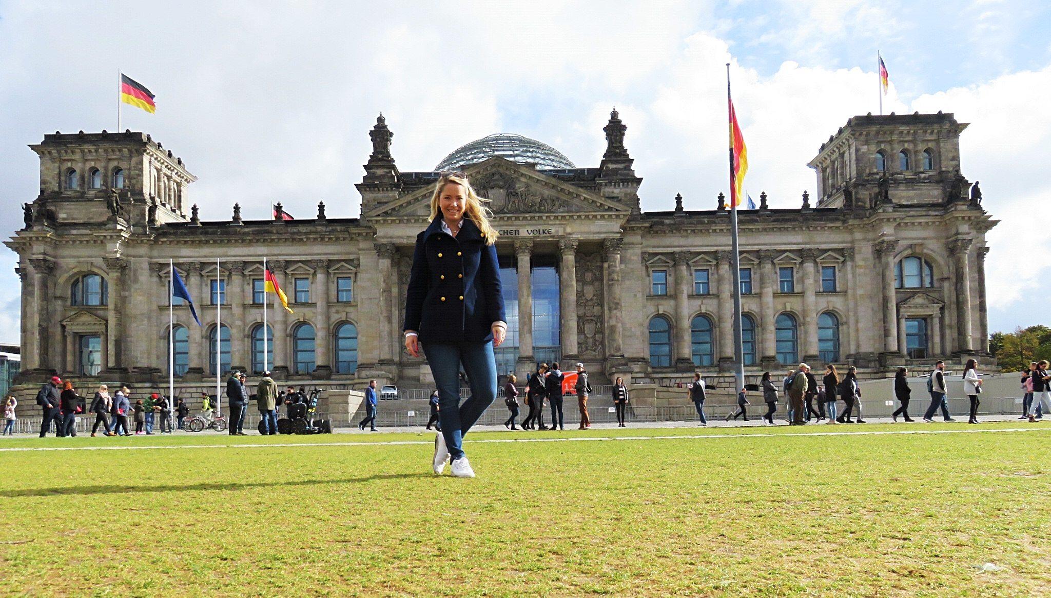Riksdagshuset Berlin