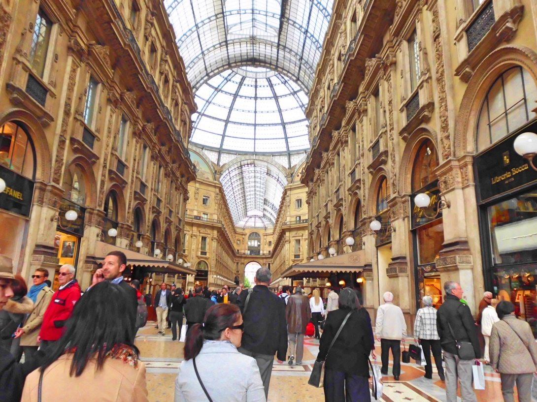 Lyxshopping i Milano