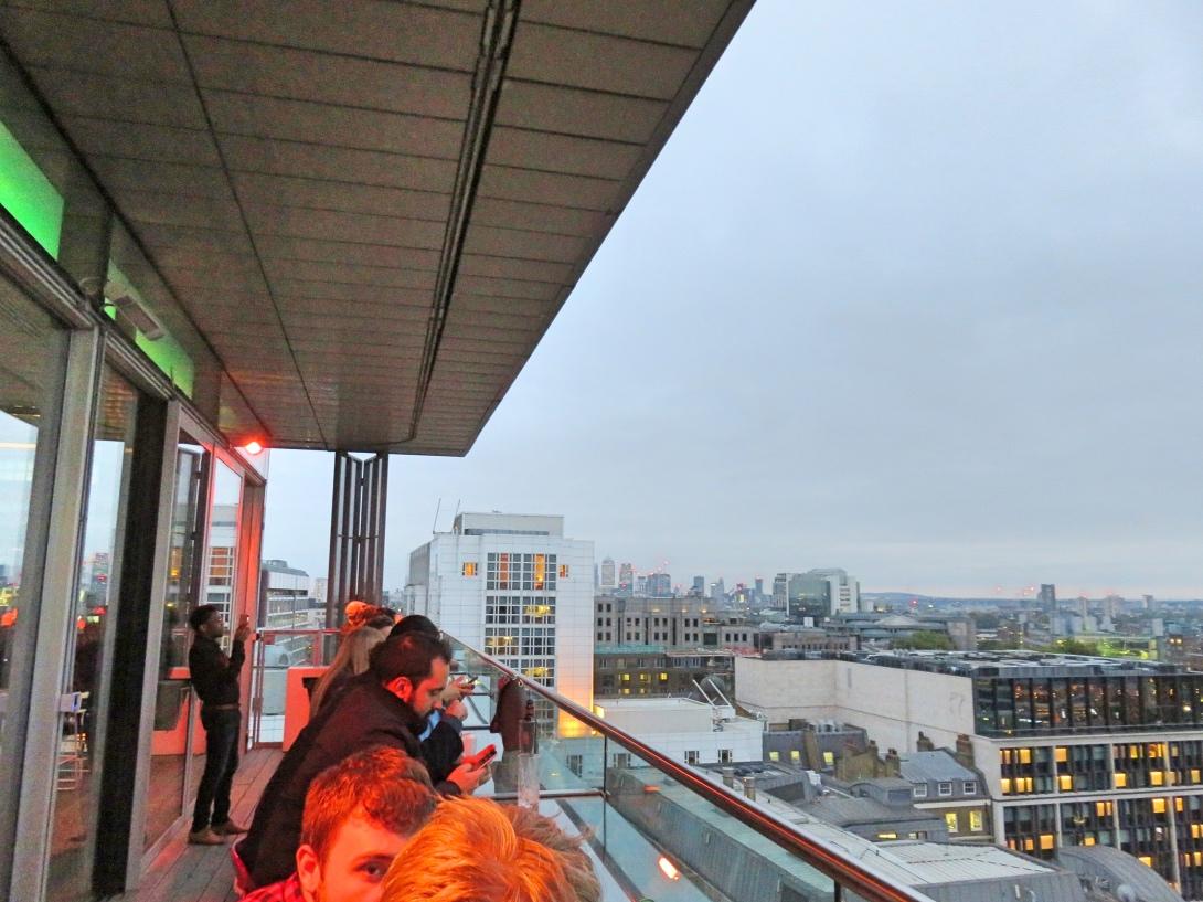 Sky Lounge Hilton Londin