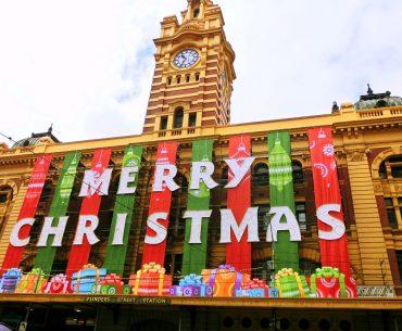 Melbourne julstämning