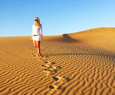 Öken i Abu Dhabi