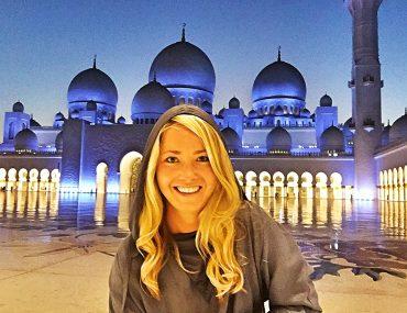 Moskén i Abu Dhabi