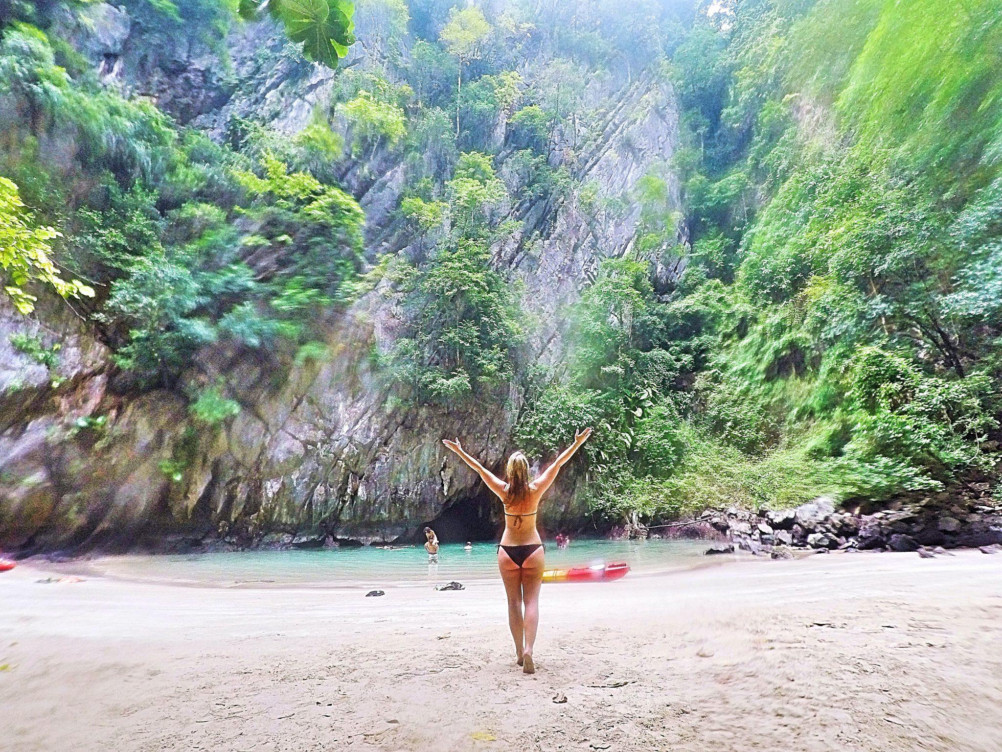 Emerald Cave, Koh Mook