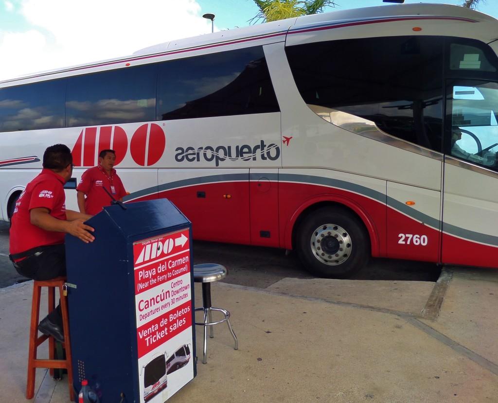 ADO bus Cancun