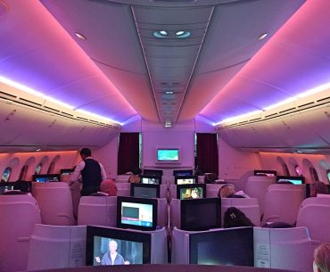 Qatar Airways Dreamliner Business Class