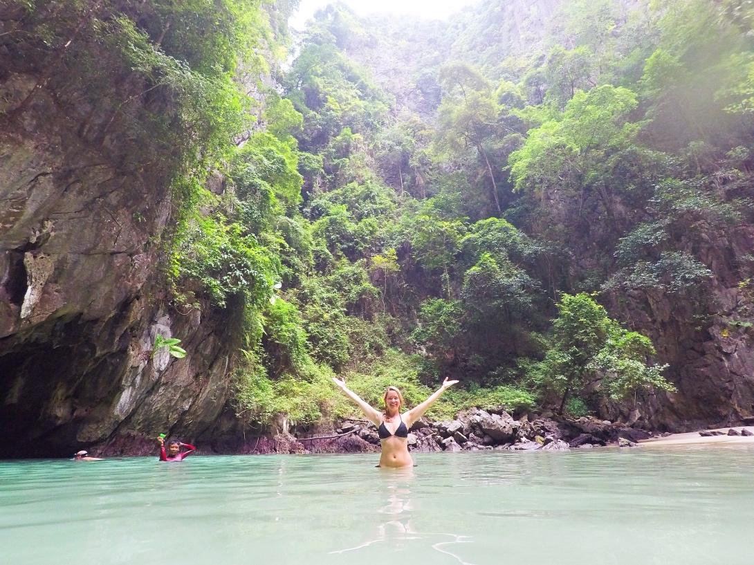 Emerald Cave, Thailand