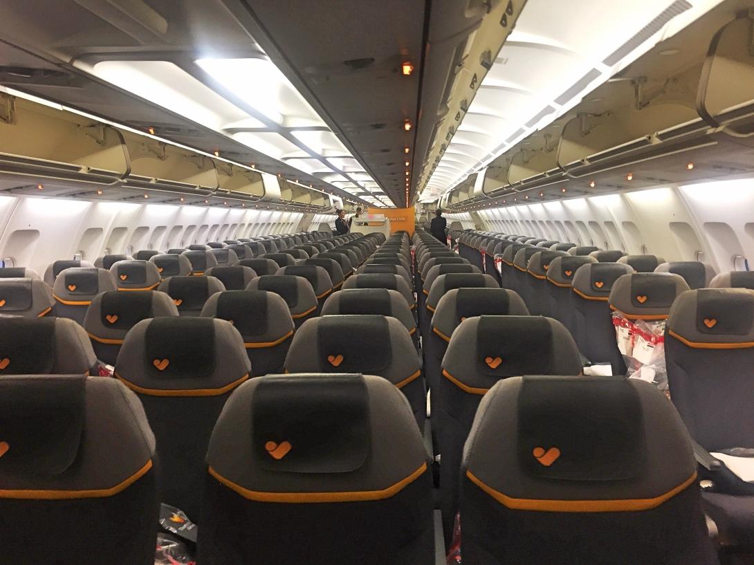 tui flygstol thailand