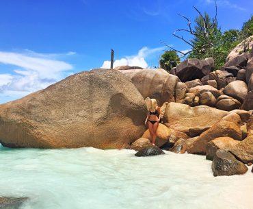 Anse Lazio, Praslin Island