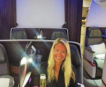 Business Class med Qatar Airways
