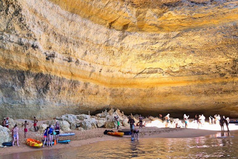 Benagil caves, Algarve