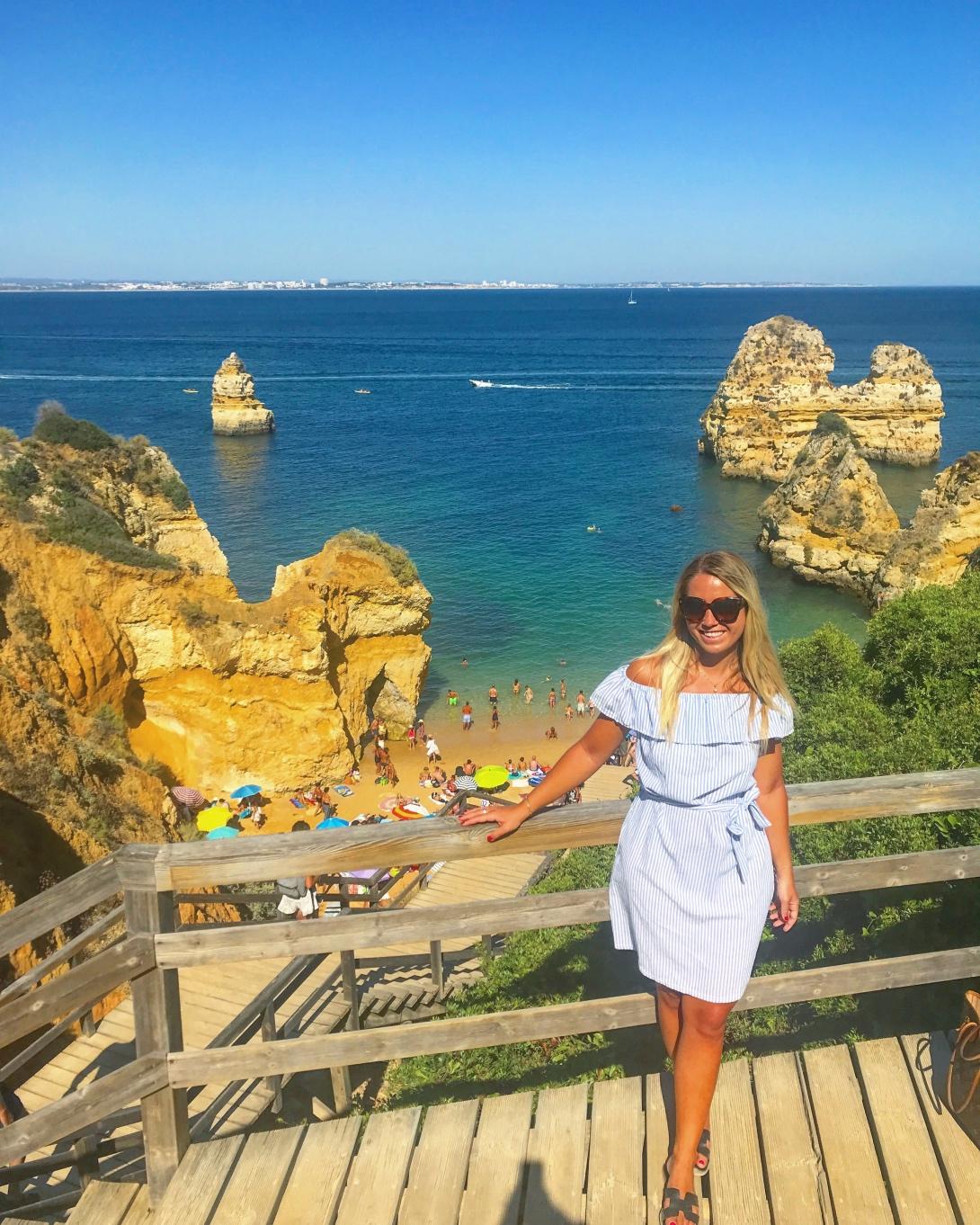 Praia de Camilho, Algarve