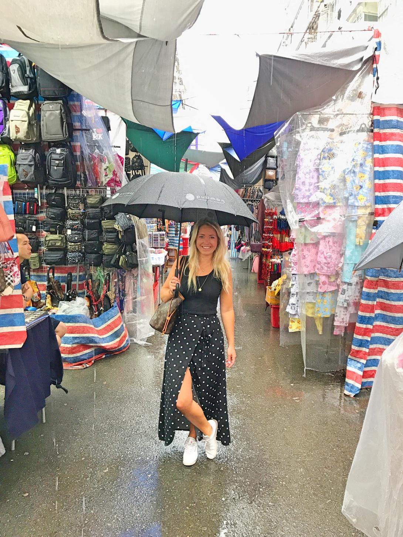 Ladies market Hong Kong