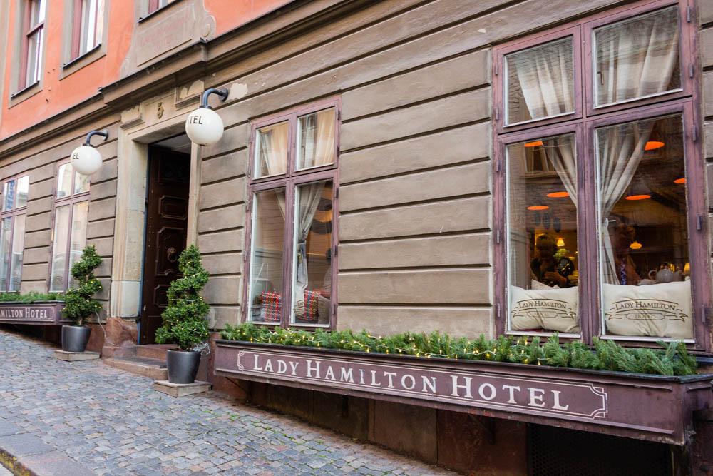 Lady Hamilton hotell