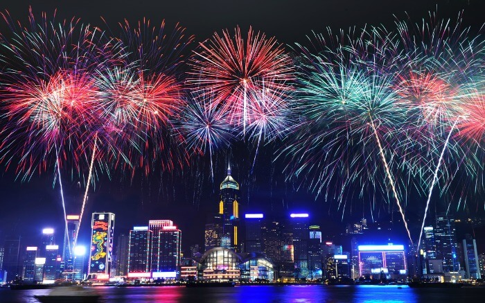 New year Hong Kong