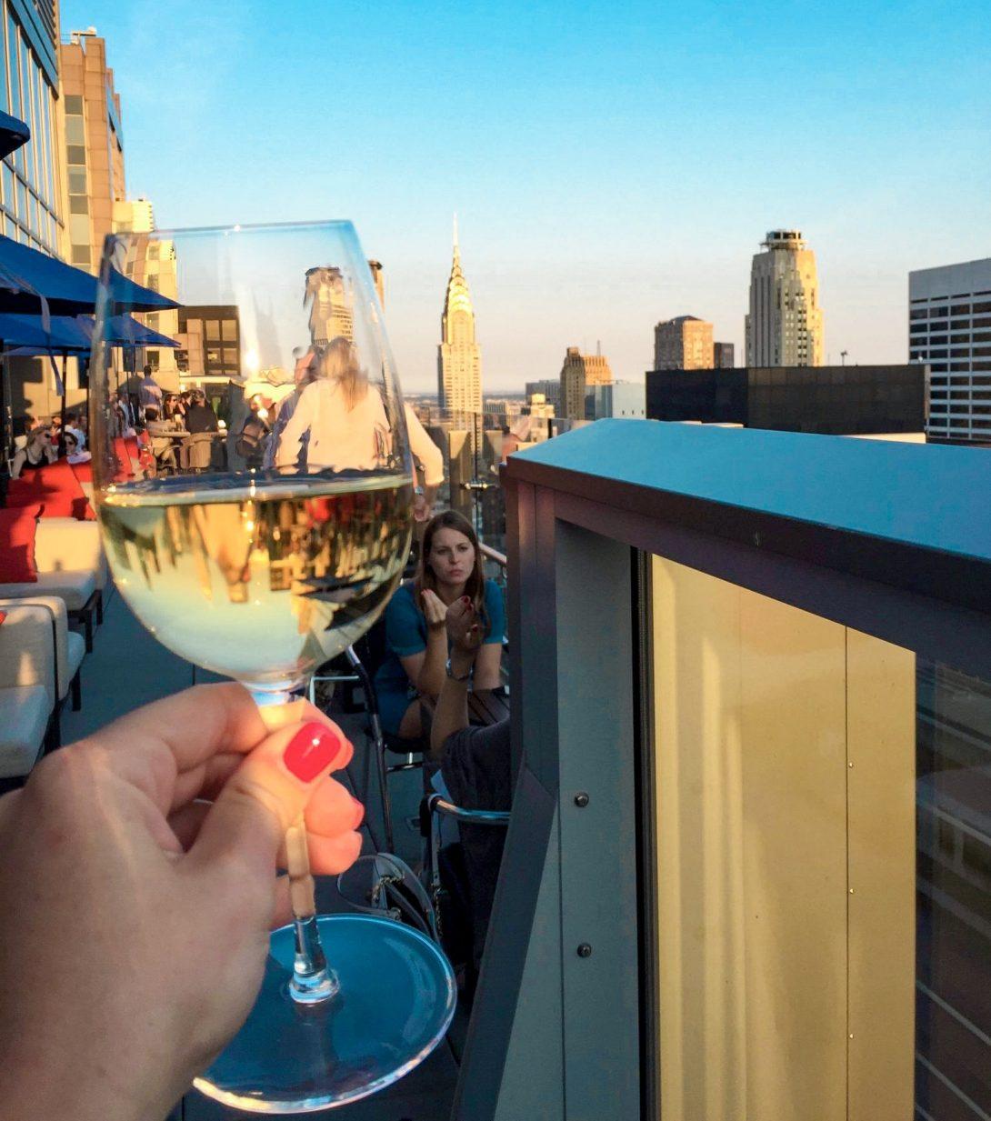 Bar 54 Hyatt hotel New York