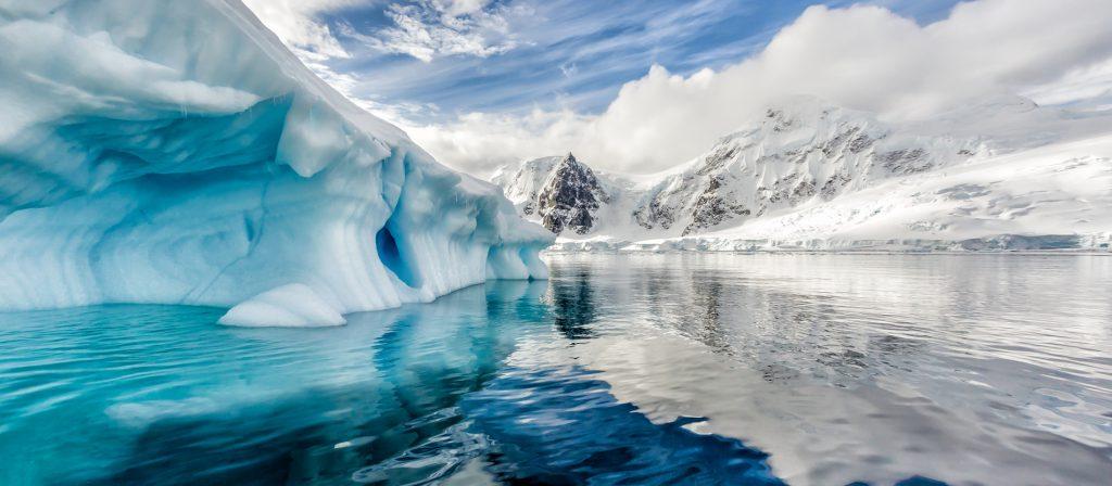 ice in antartica