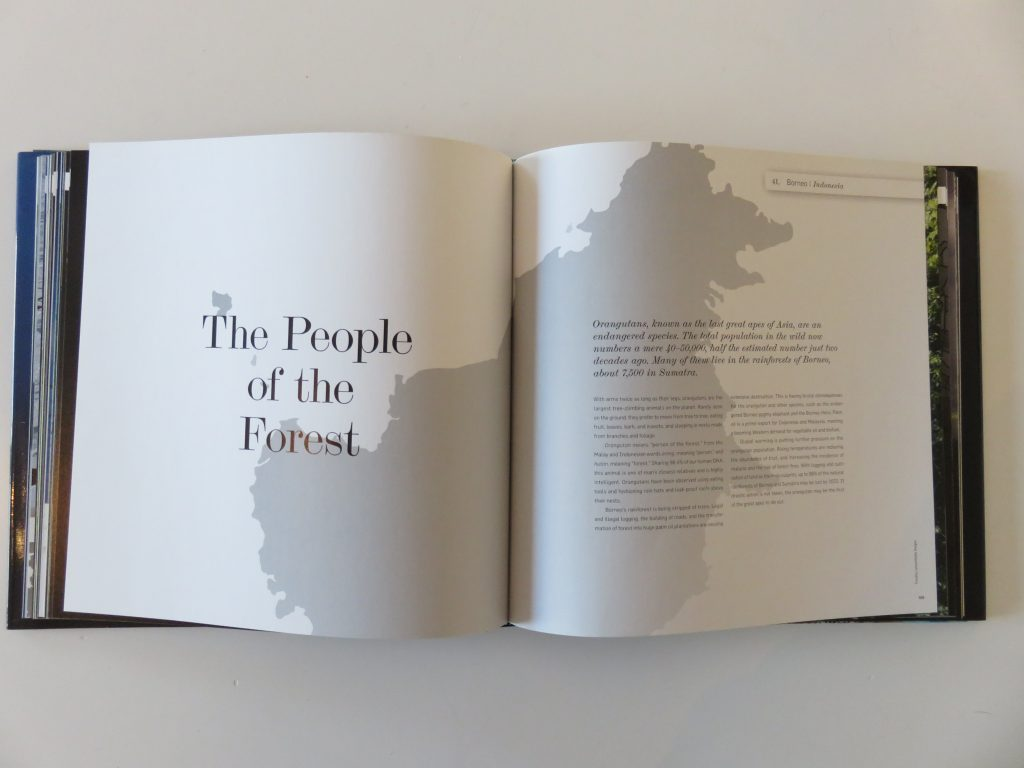 a book about the forests in Borneo