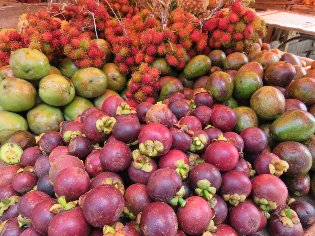 some exotic local fruits