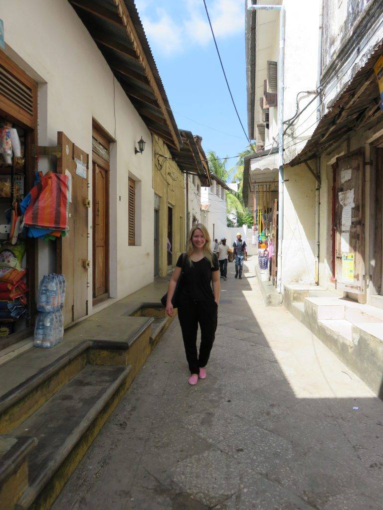 a picture of me on a street