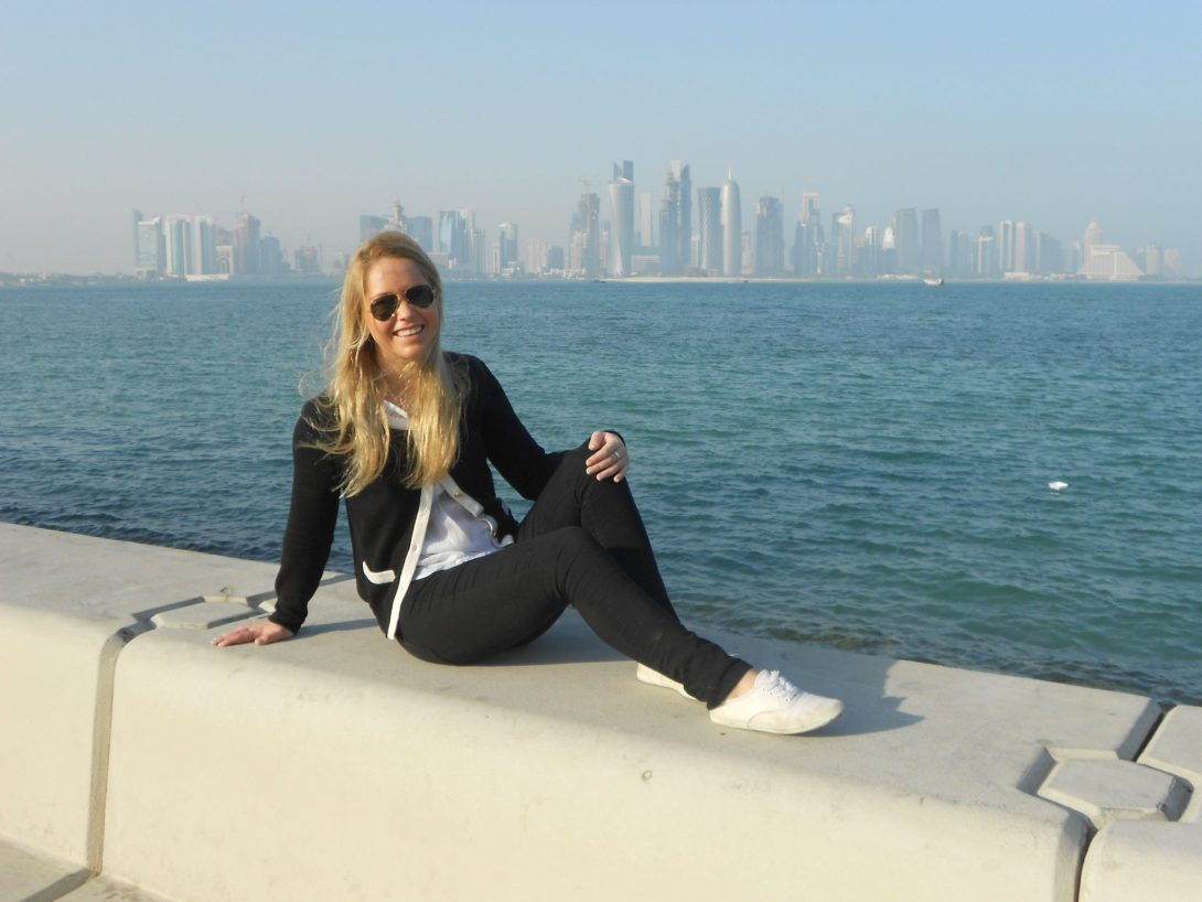 Cornichen i Doha, Qatar