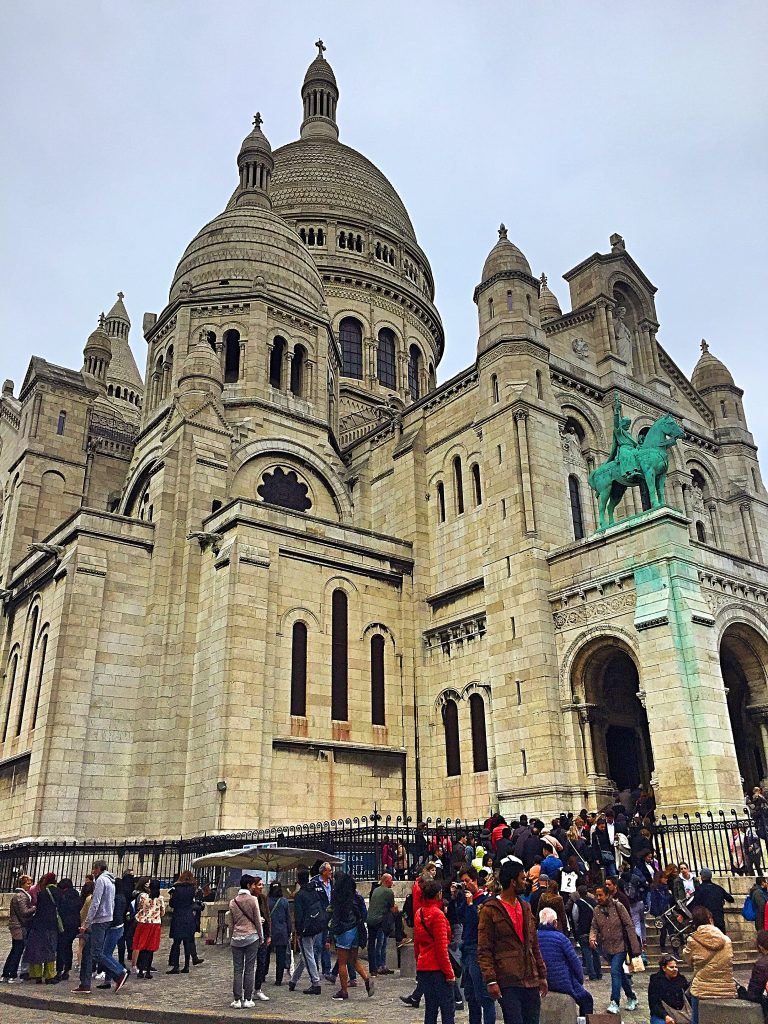 a picture of Sacré Coeur