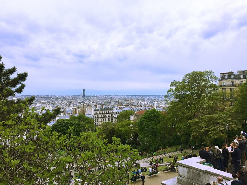 a picture of the view of Paris from the Sacré Coeur