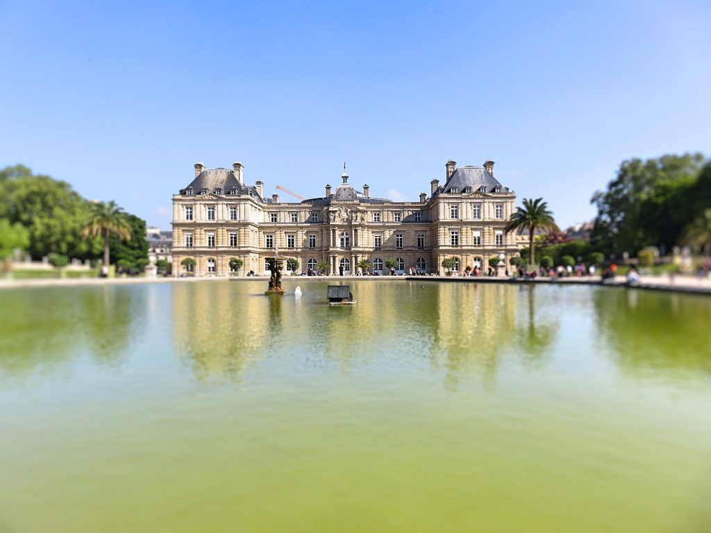 a picture of Jardin du Luxembourg garden
