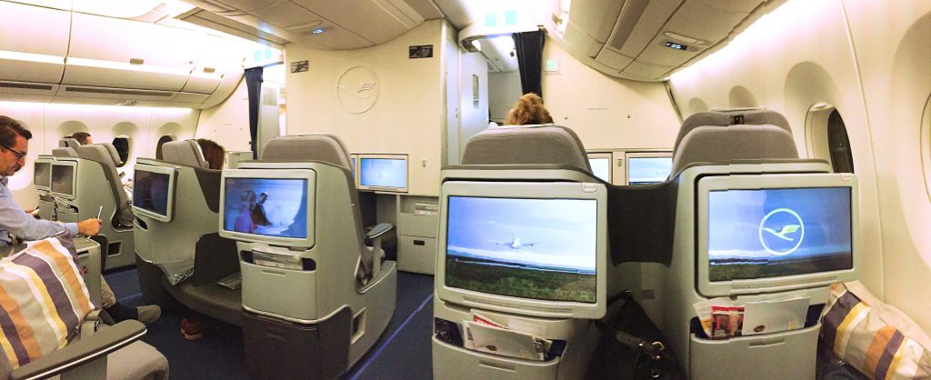 A picture of another view from my seat